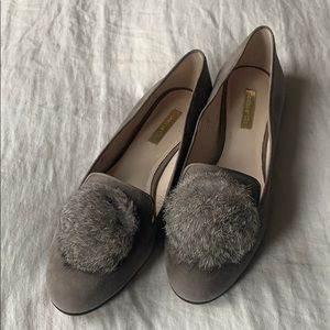 Louise et Cie Grey Loafers